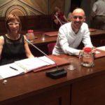 Manola Guazzini e Matteo Squicciarini, consiglieri comunali di CambiaMenti