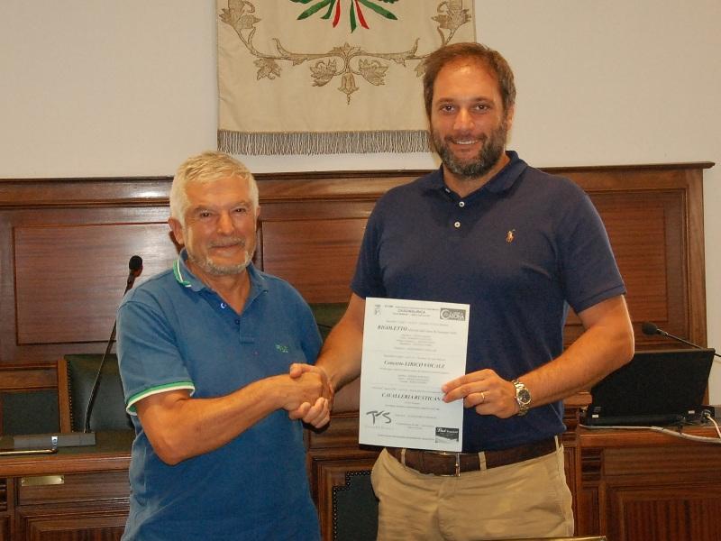 da sinistra, Andrea Porcaro e Leonardo Cosentini