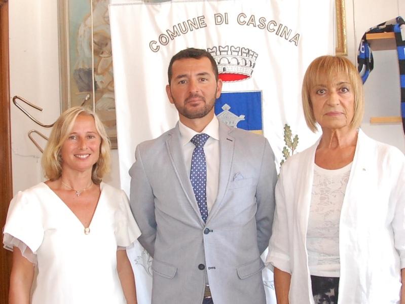 Giunta Cascina, Rollo rifà la squadra: Giachetti e Settesoldi al posto di Legnaioli e Ziello