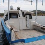 L'imbarcazione che sarebbe dovuta essere eco-compatibile