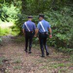 carabinieri campagna bosco