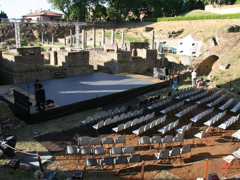 Fondi all'Anfiteatro di Volterra, Forza Italia ritira la mozione - gonews