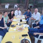 La giunta comunale di Empoli al completo nella serata del 3 luglio a Monterappoli per i 20 anni dell'associazione Il Torrino
