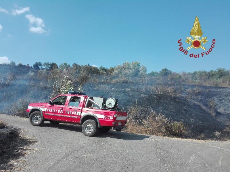 incendio terranuova bracciolini vigili del fuoco1