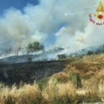 incendio terranuova bracciolini vigili del fuoco2