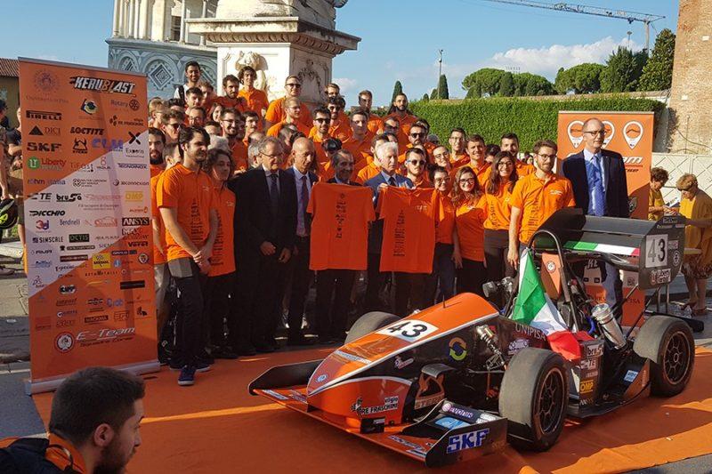UniPi, la squadra corse presenta la nuova vettura KeruBlast