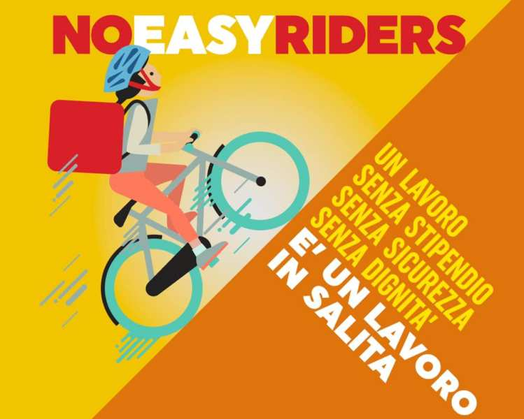 no easy riders cgil