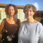Da sinistra Angela Bagni e Sandra Mugnaini