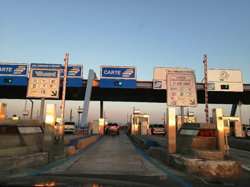 Bretella autostradale al patrimonio Anas