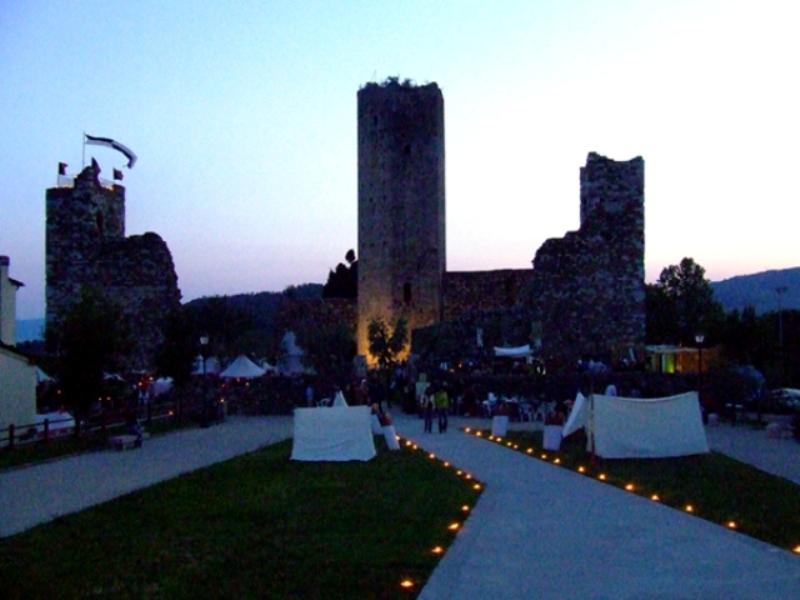 Mangiafuoco alla Rocca di Castruccio, rimandata per maltempo la seconda edizione