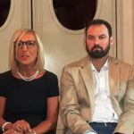 Maria Cristina Giglioli e Alessio Falorni (foto gonews.it)