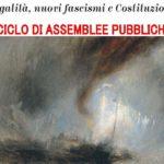 legalità, nuovi fascismi, Costituzione