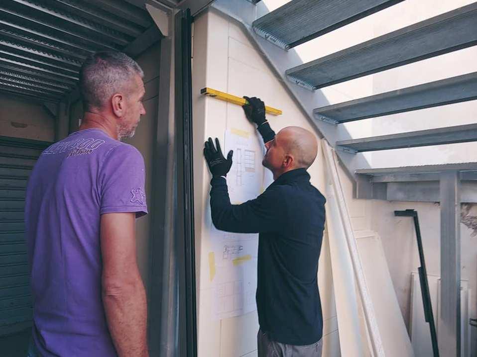 montaggio porte finestre alfer castelfiorentin