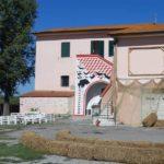 Il centro di accoglienza straordinaria Officine Cavane a San Miniato (foto gonews.it)