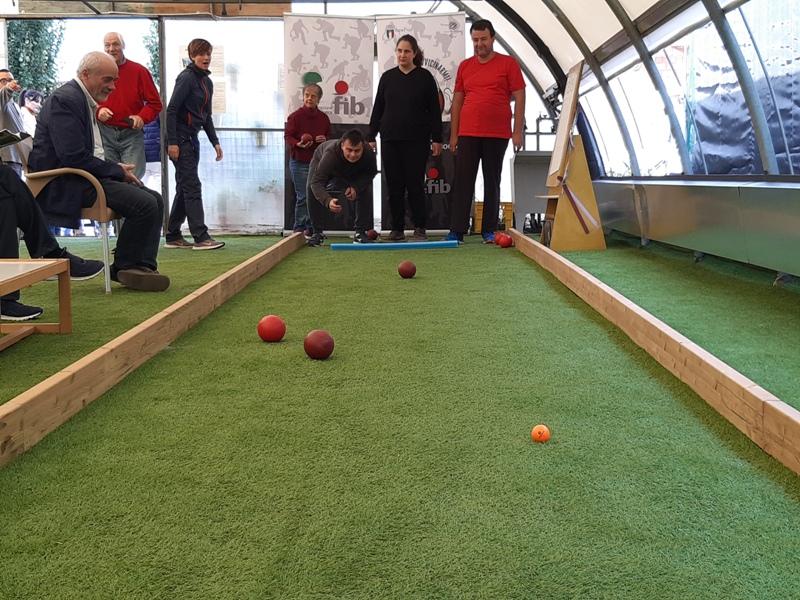 All'Anffas di Prato si gioca a bocce, inaugurato lo spazio Edu-Sport: via all'attività paralimpica