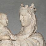 Giovanni Pisano Madonna del Colloquio1280 (dalla Cattedrale) part