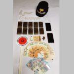 droga hashish soldi carabinieri