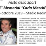 manifesto Memorial Macchi Festa dello Sport