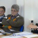 Da sinistra Berti, Montalti e Cipriani