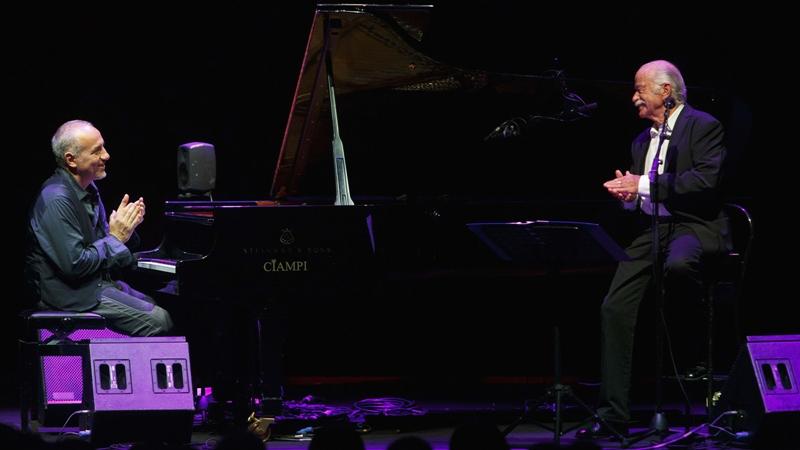 Prato Festival 2019, Gino Paoli e Danilo Rea in concerto: appuntamento al Teatro Metastasio - gonews