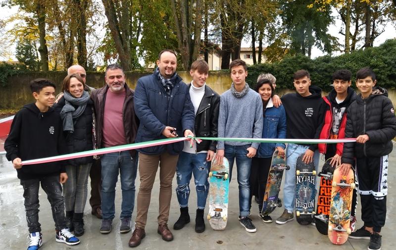 Inaugurato lo Skatepark a Borgo San Lorenzo: via alle tavole su ruote nel Parco Pertini - gonews