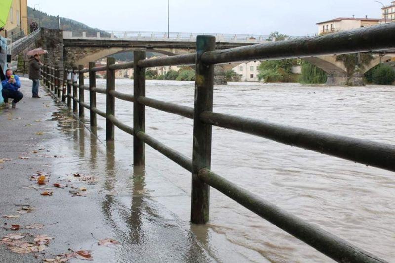 Maltempo Pontassieve, strade inondate a Sieci come nel 1992 - gonews