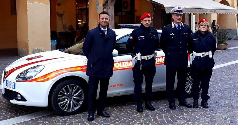 Nuovi mezzi per la polizia municipale di Cascina - gonews