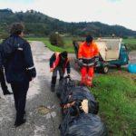 via usciana 2 rifiuti abbandonati municipale