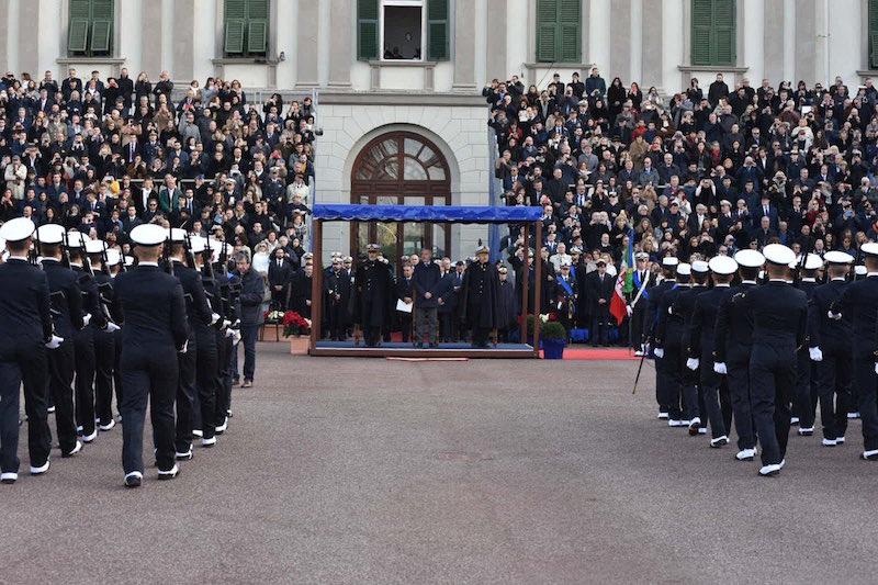Accademia Navale Livorno, 108 allievi giurano fedeltà alla Repubblica