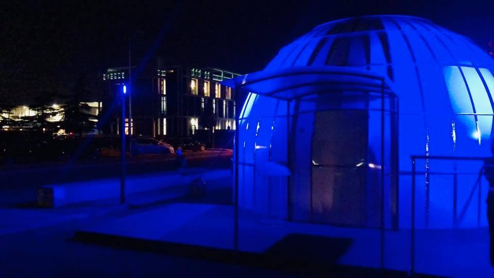 Un igloo con la volta celeste a Santa Croce: la struttura per sensibilizzare sull'inquinamento luminoso