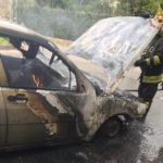 incendio auto metano