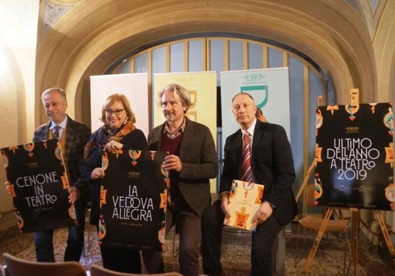 Capodanno al Verdi, La Vedova Allegra per festeggiare il 2020 a Pisa