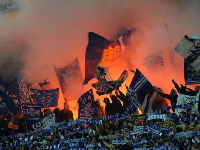 Caos per Ascoli-Livorno, Daspo per tre ultras toscani
