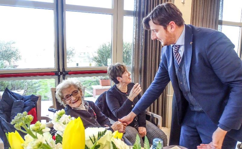 Compie ben 107 anni Estella Caprotta, la più longeva del Chianti