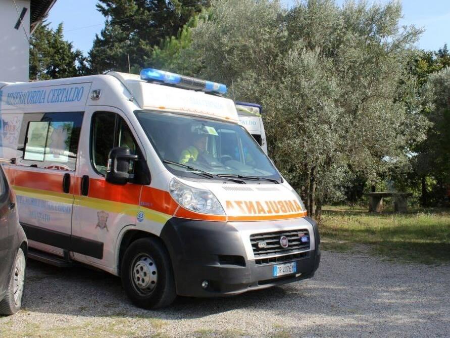 Malore fatale in scooter, muore 58enne a Castelfiorentino