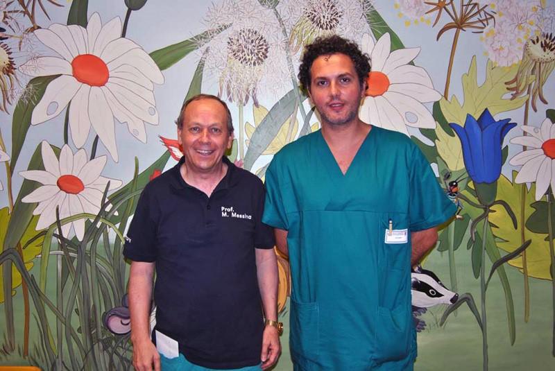 Organi addominali nel torace, intervento salva bambino a Siena
