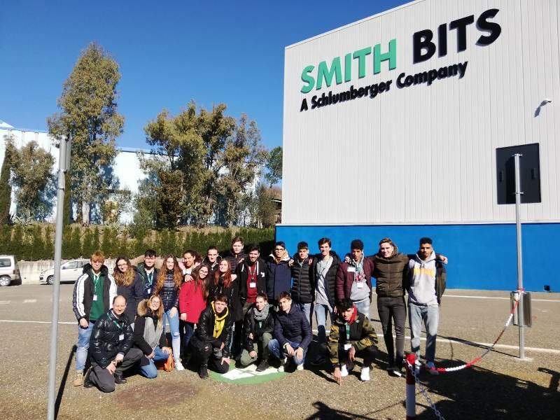 Istruzione, il Santucci di Pomarance in visita alla SMITH BITS