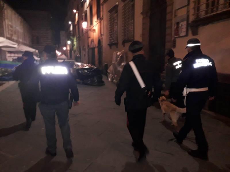 Minori e alcol, multe per ubriachezza per la movida di Lucca
