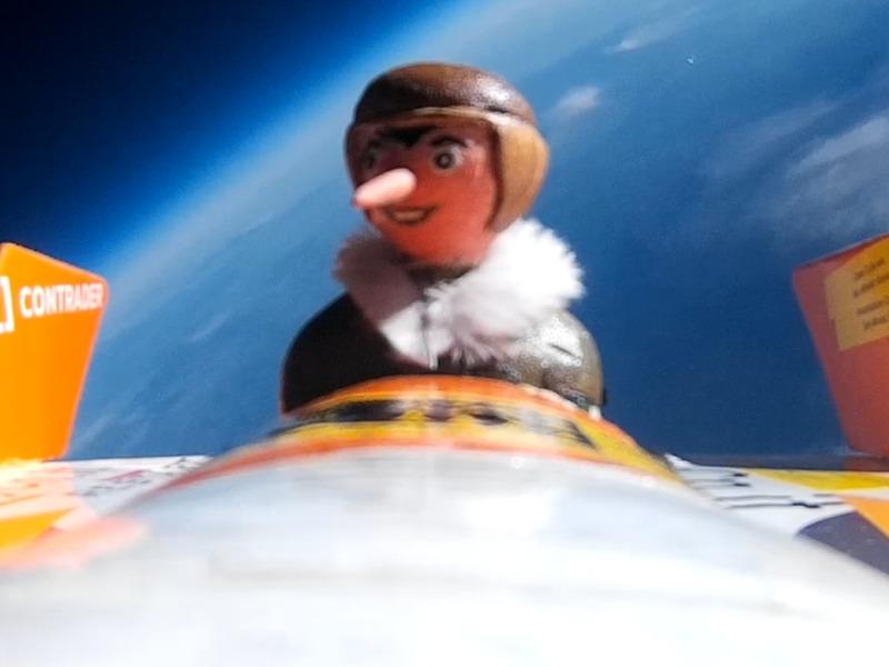 Torna a casa, Pinocchio: atterraggio sicuro dopo 80 km di volo