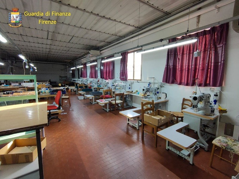 Evasione, sequestrati beni per 2 milioni a un laboratorio in Valdarno