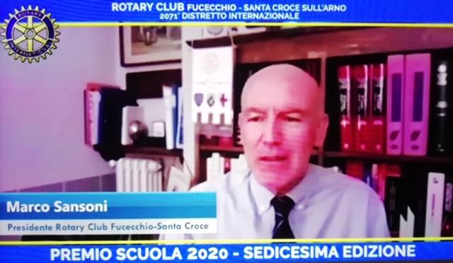 Premio Scuola Rotary Fucecchio Santa Croce, Margherita vince per la Montanelli-Petrarca