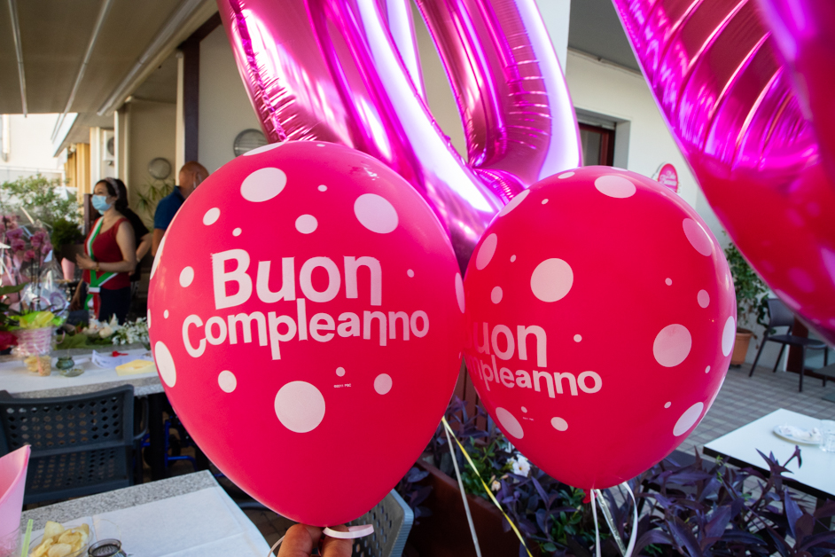 Compleanni centenari a Livorno: auguri a Siria e Giorgina