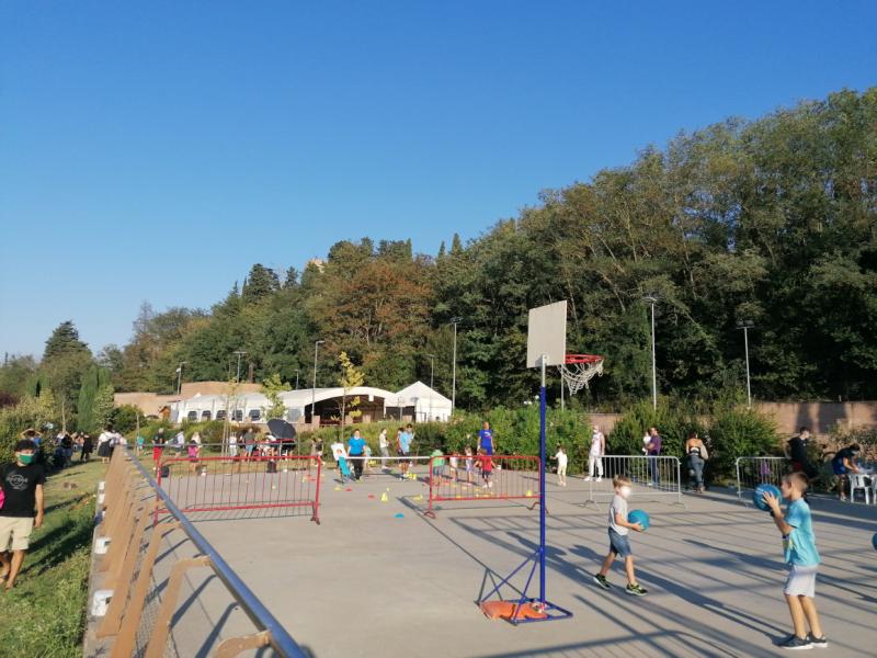 Sgambata al Castello di Sonnino: Montespertoli valorizza lo sport