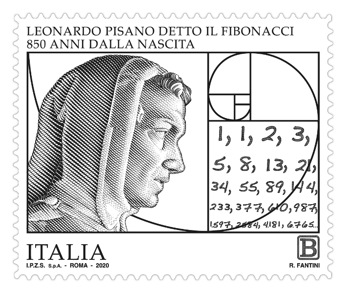 Francobollo Fibonacci