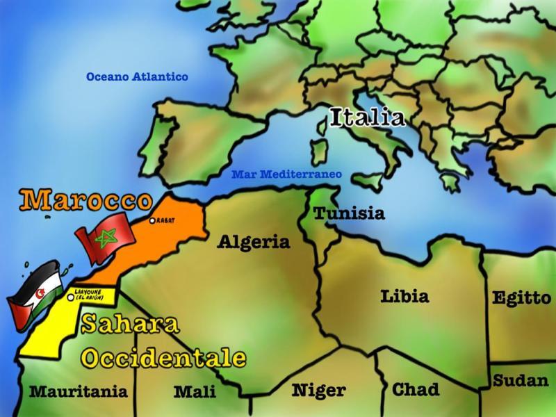 Cartina Spagna E Marocco.Sahara Occidentale Fine Della Tregua Tra Marocco E Polisario Gonews It