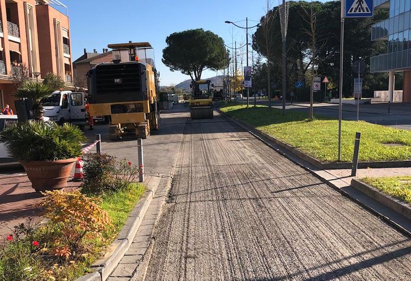 Lavori in corso per 50mila euro sulle strade di Montelupo