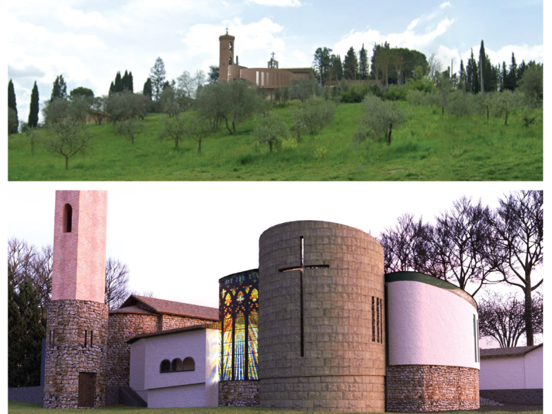 San Donato a Livizzano, la chiesa si amplia e nasce un circolo ricreativo