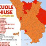Scuole chiuse Toscana