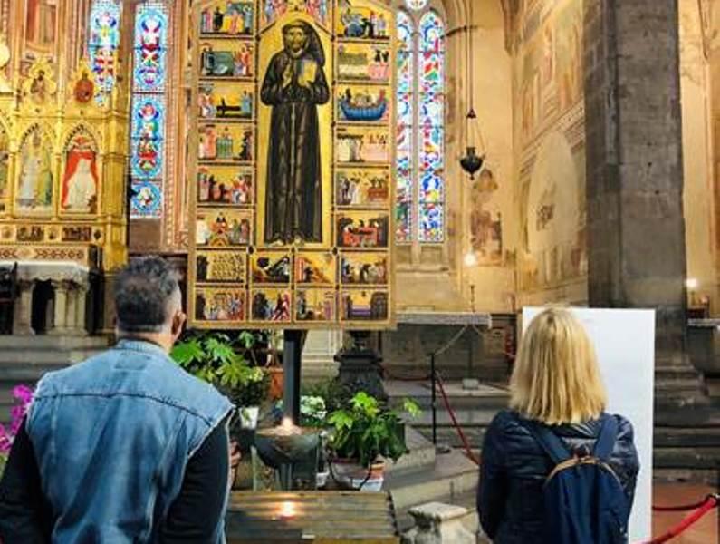Tornano i visitatori in Santa Croce, omaggio alla giornata degli infermieri