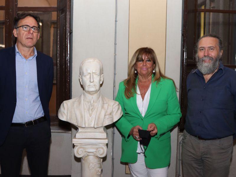 Pisa omaggia Guglielmo Marconi, donato un busto dello scienziato al Comune